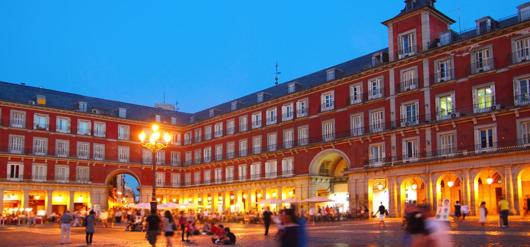 Madrid's vibrant Plaza Mayor