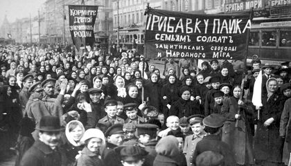 Russia's February Revolution Was Led by Women on the March