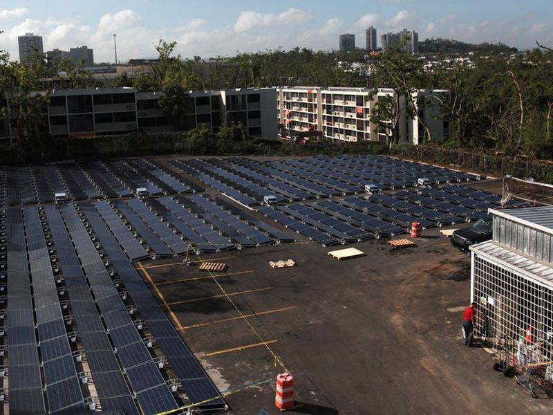 Why Puerto Rico S Power Can T Come From Solar Microgrids
