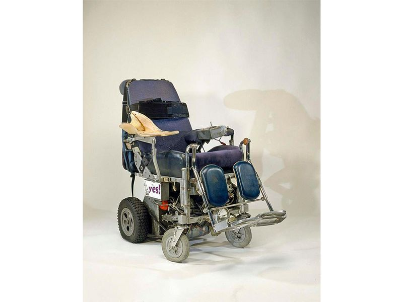 Roberts' wheelchair