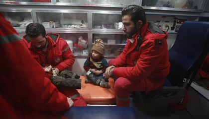 Limited Number of Critically Ill Evacuated from Besieged Syrian Region