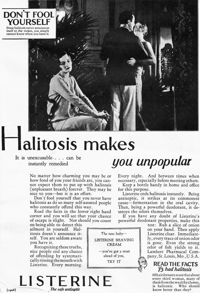 How Halitosis Became a Medical Condition With a