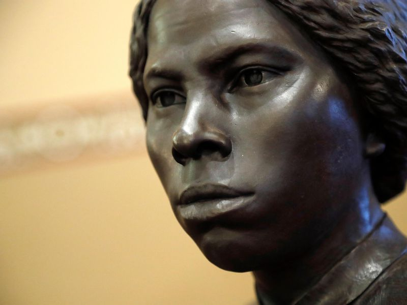 Harriet Tubman statue in Maryland state house