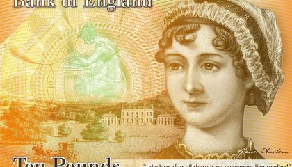 New British £10 Note Will Feature Jane Austen