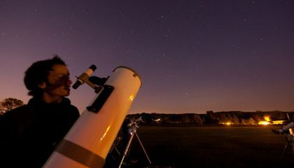 Gratitude for the Backyard Astronomer