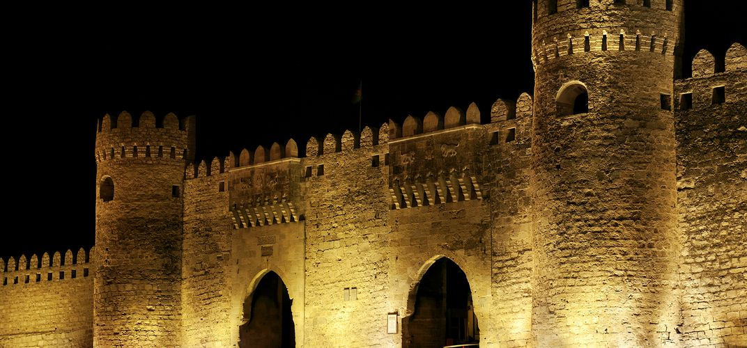 Main Gate of Baku, Azerbaijan