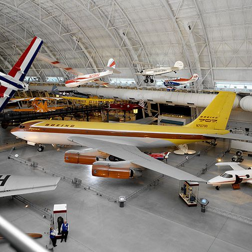The airplane that ushered in the jet age.