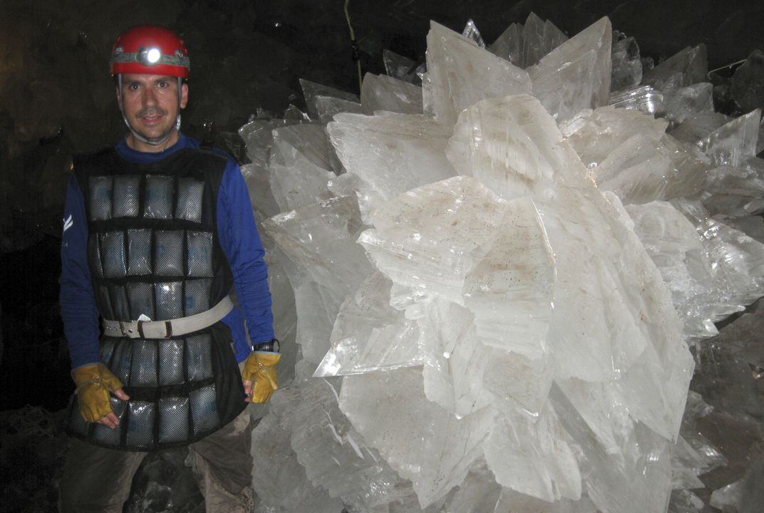 Scientists find ancient life trapped in weird cave