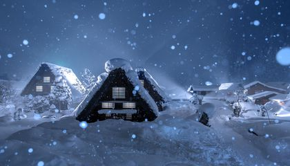 This World Heritage Site in Japan Is One of the Snowiest Places on the Planet