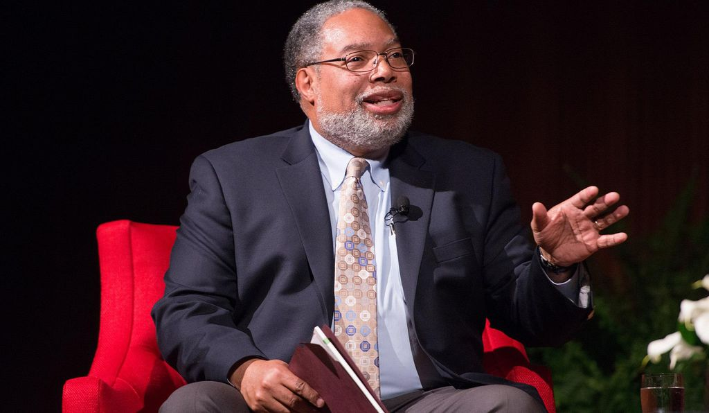 Historian, educator, and museum director Lonnie Bunch.
