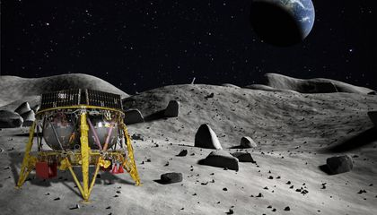 Israel's Lunar Lander Blasts Off for the Moon