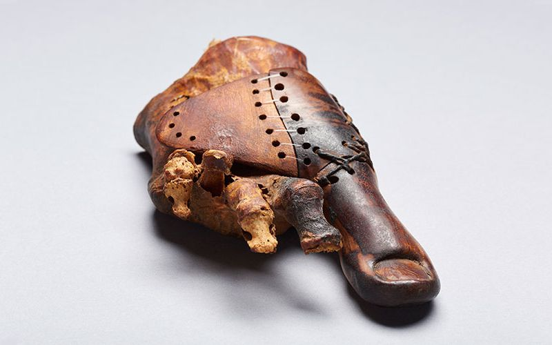This 3,000-Year-Old Wooden Toe Shows Early Artistry of