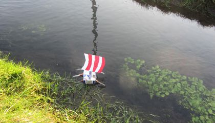 Primary School Students in Scotland Gave Dead Goldfish a Viking Burial