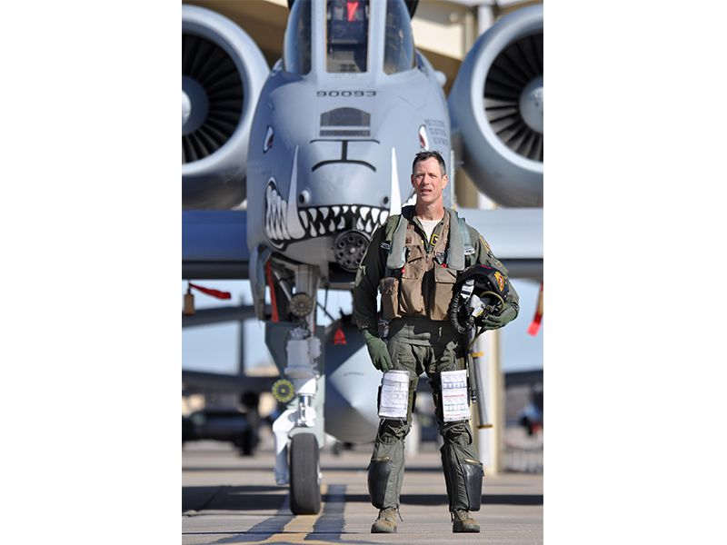 Marks and his A-10