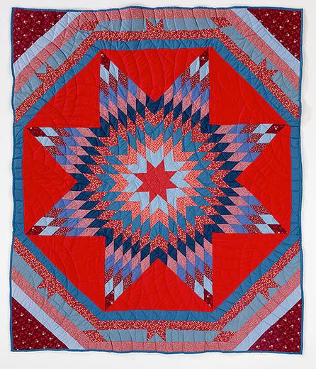 A Spectacular Collection Of Native American Quilts Arts Culture Extraordinary Native American Quilt Patterns