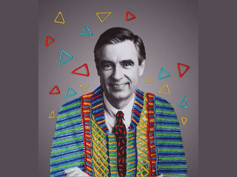 photograph of Fred Rogers