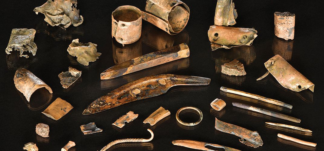 Caption: Warrior's Toolkit Sheds Light on Ancient Battle