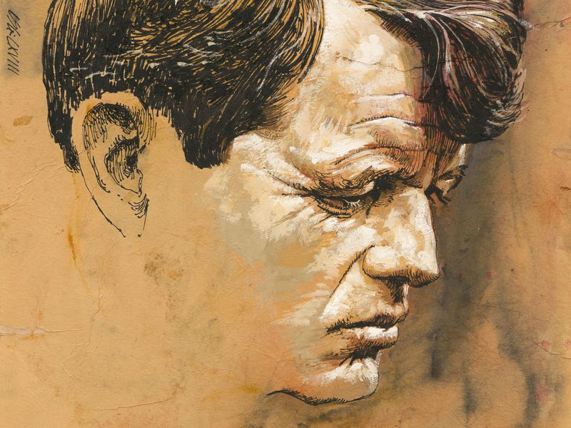 Robert F. Kennedy, Louis S. Glanzman