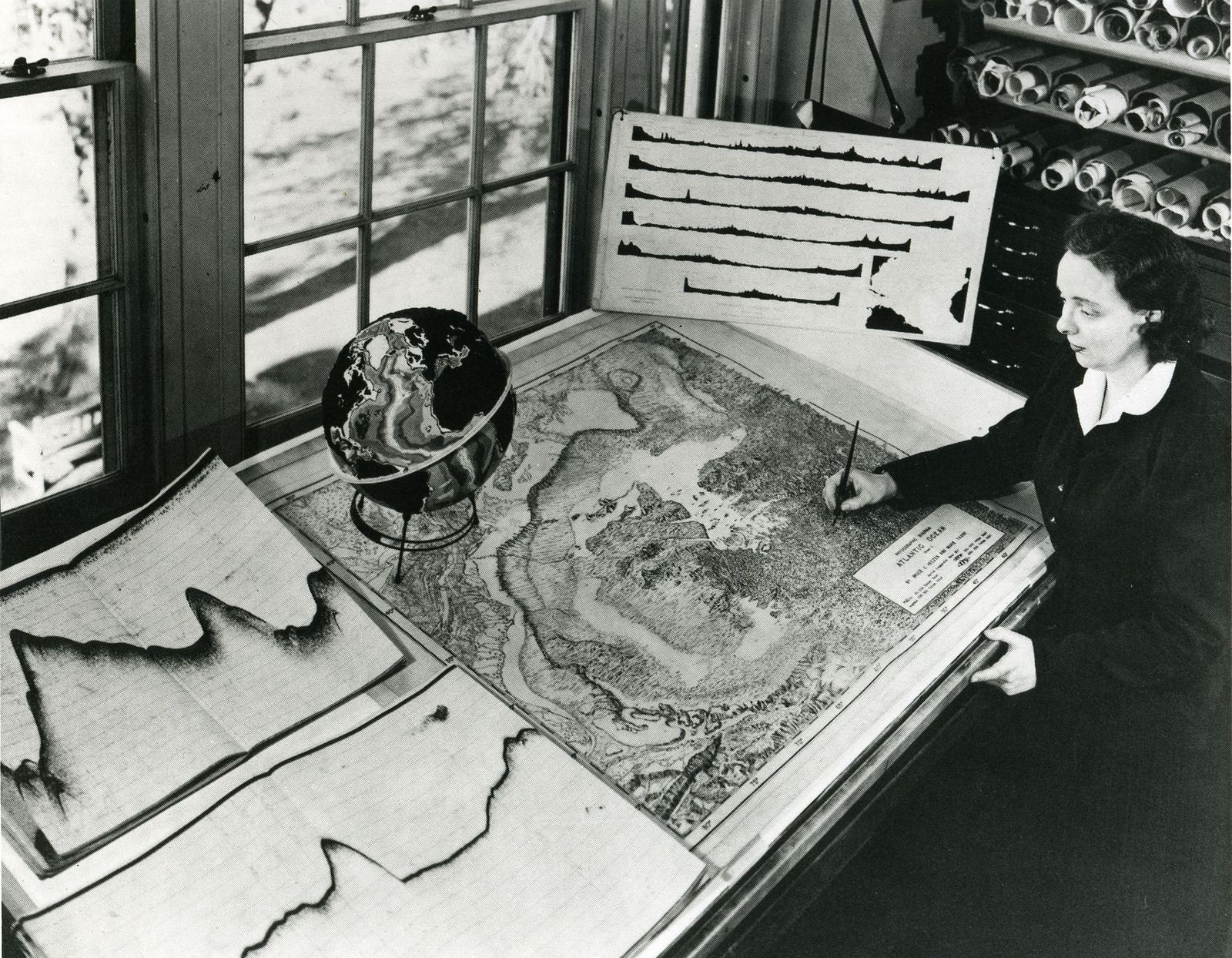 Seeing Is Believing How Marie Tharp Changed Geology Forever