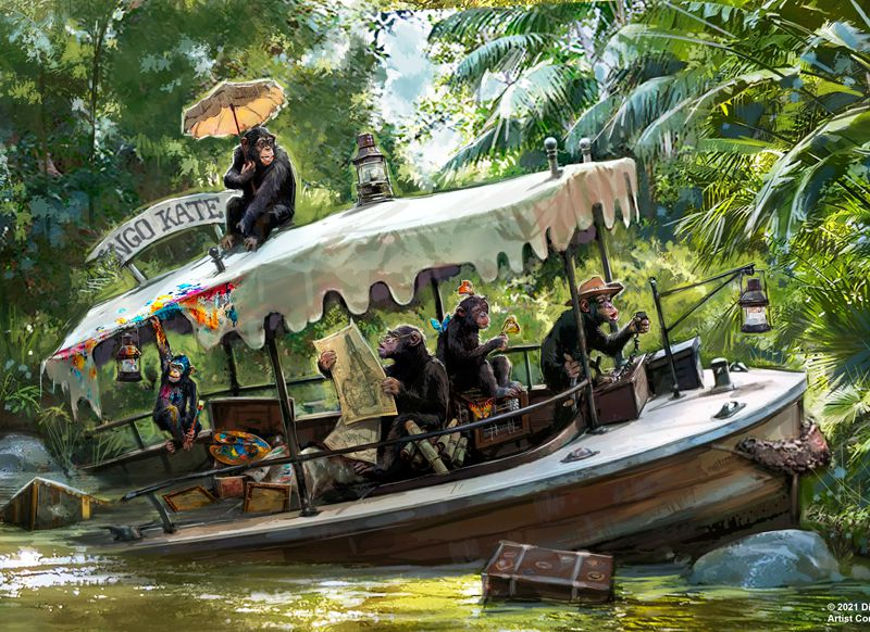 Revised version of the Jungle Cruise