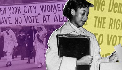 100 Years of Women at the Ballot Box