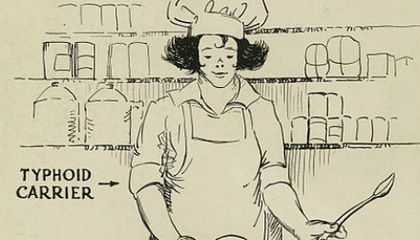 How Typhoid Mary Stayed Healthy