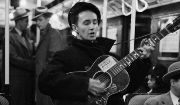 Preview thumbnail for video'Celebrating the Woody Guthrie Centennial
