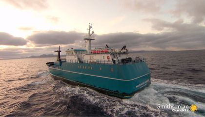 This Alaskan Fishing Boat Does Not Answer to Storms