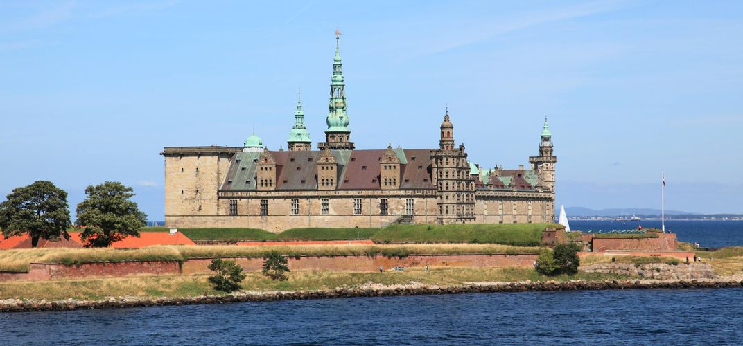 Denmark's Kronborg Castle, located near Elsinore