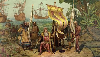 Image: Why Christopher Columbus was the perfect icon for a new nation looking for a hero