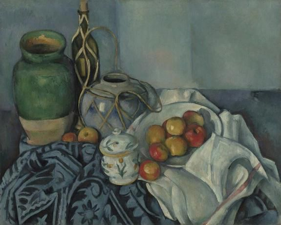 Paul Cézanne , Still Life with Apples. French, 1893 – 1894