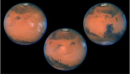 Examining Martian Meteorites, Scientists Think They've Found The Red Planet's Missing Water