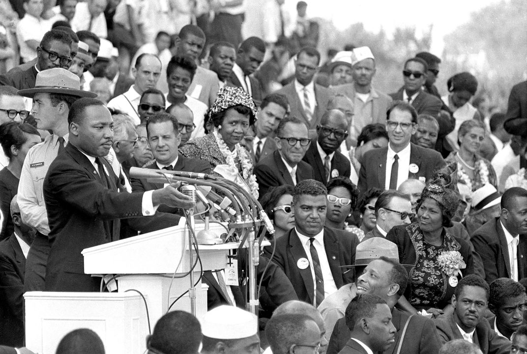 "Martin Luther King's 1st ""I Have a Dream"" speech"