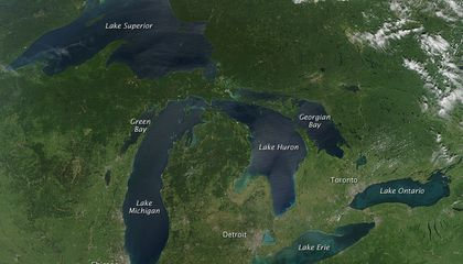 The Great Lakes Have More Garbage Per Square Inch Than the Great Pacific Garbage Patch