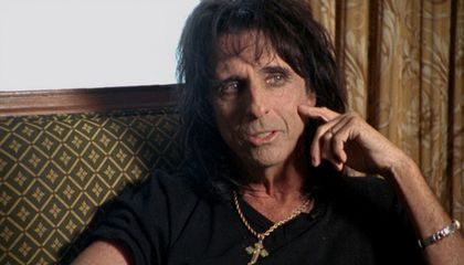 Forgotten Warhol Silkscreen Found in Alice Cooper's Storage Locker