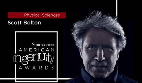 Preview thumbnail for video'Smithsonian Ingenuity Award Winner: Scott Bolton
