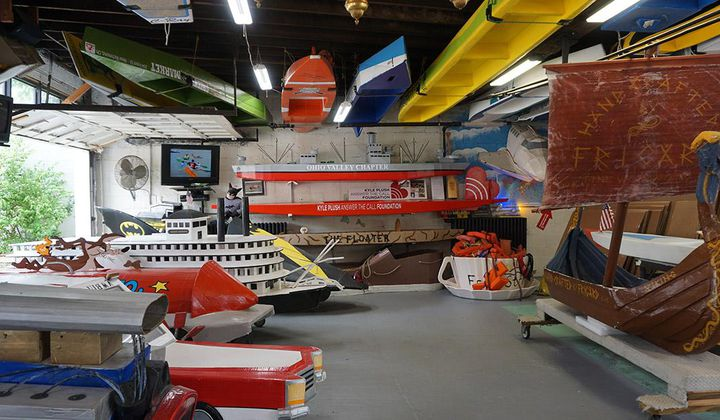 Peek Into the World's Only Cardboard Boat Museum