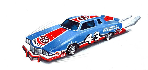 Richard Petty car