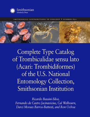 Complete Type Catalog of Trombiculidae sensu lato (Acari: Trombidiformes) of the U.S. National Entomology Collection, Smithsonian Institution photo