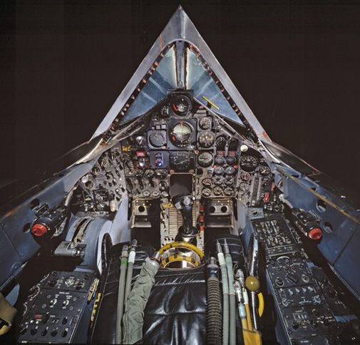 The SR-71 flew higher and faster than any jet in history.
