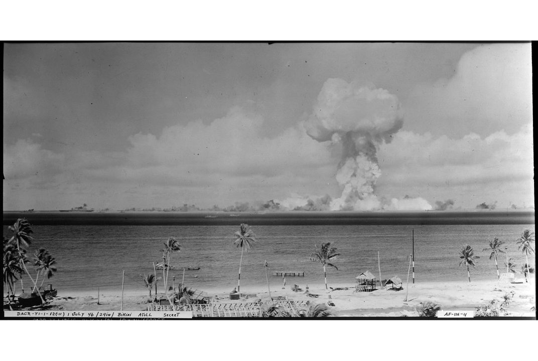 The Crazy Story Of The  Bikini Atoll Nuclear Tests Smart News Smithsonian