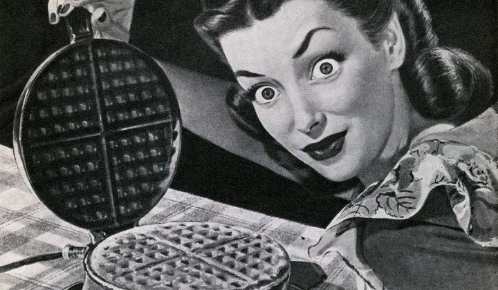 A Brief History of the Waffle Iron