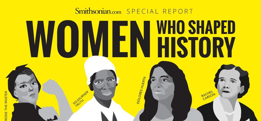 Caption: Women Who Shaped History