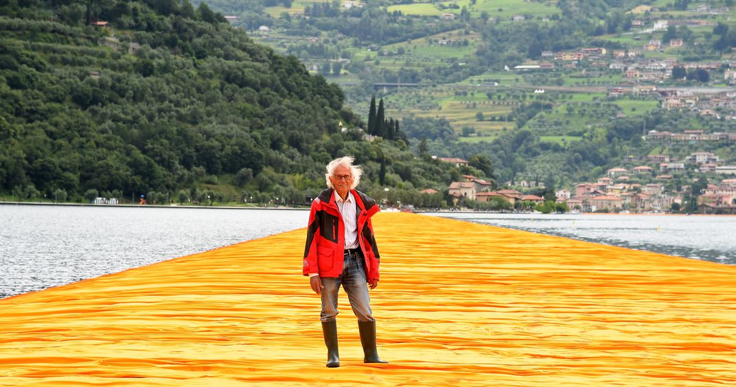 Christo's The Floating Piers