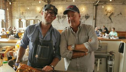 Come for the Bug Eating and Get a Lesson in Humanity from Andrew Zimmern