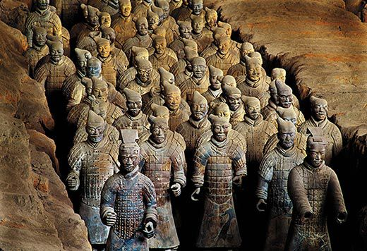 Terra Cotta Soldiers On The March History Smithsonian