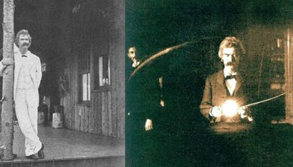 The Only Footage of Mark Twain in Existence