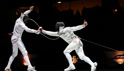 En Garde! We Seem to Be Getting the Point of Fencing