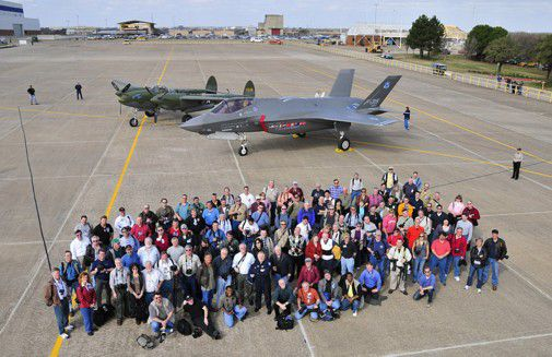 An historic pairing in Texas for the benefit of the world's best aviation photographers.