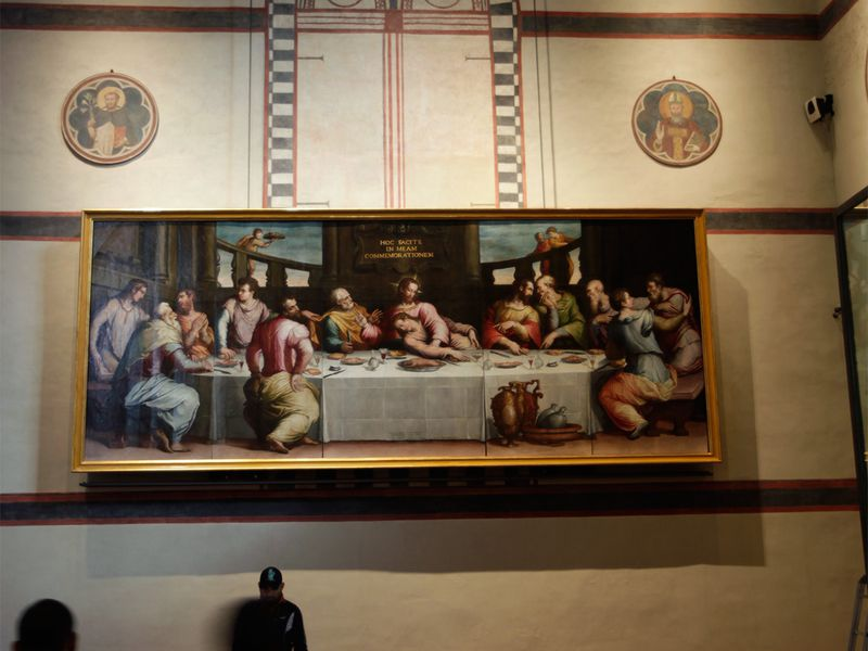 Vasari's Last Supper